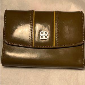 Bosca leather folding wallet GC hardly used